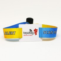 Adjustable Fabric Medical Alert Wristband