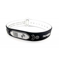 Black Adjustable Medical Wristband with NFC and QR code (V2) - NO SUBSCRIPTION