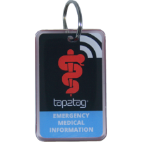 Medical Alert Key fob V2 (No subscription required)