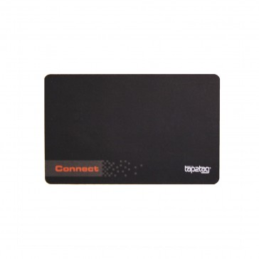Tap2Tag Connect Card - Black - Front