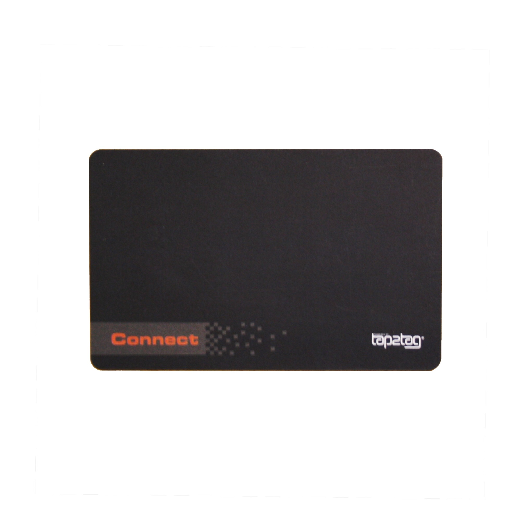 connect card black front - Electronic Business Card