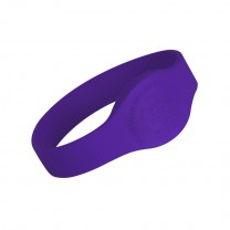 Purple Teardrop Medical Alert Wristband