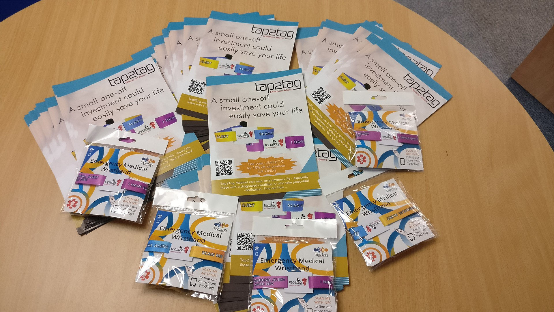 Sign up to our Leaflet Distribution list