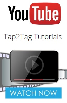 Tap2Tag How to videos
